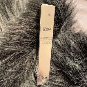 New in box Dior waterproof pro liner 182